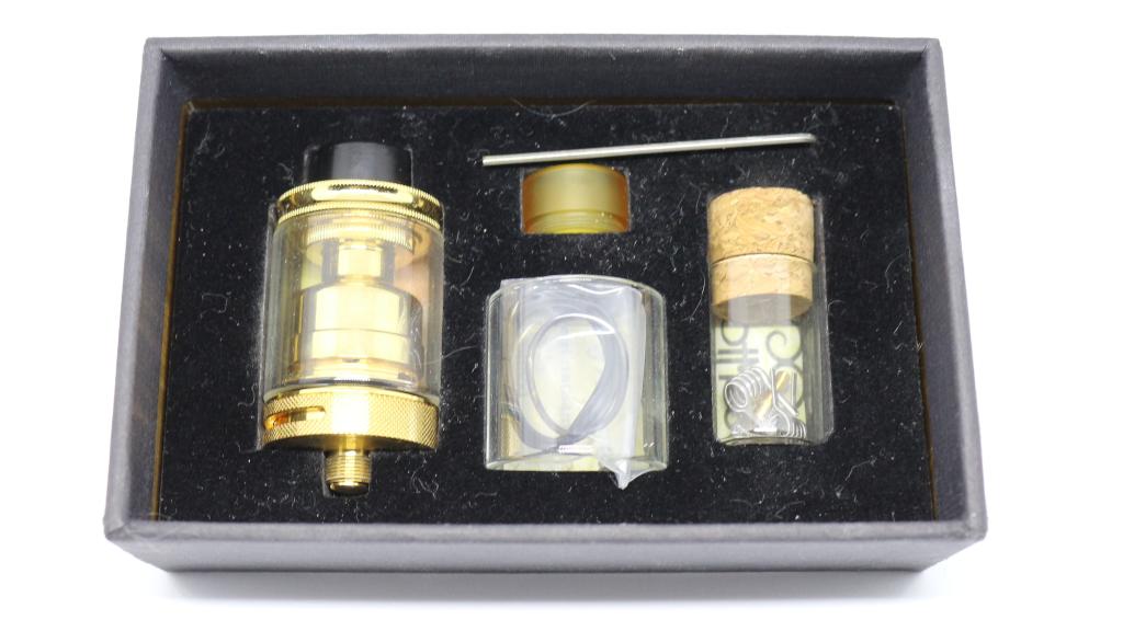 DotMod Petri 24K Gold Plated Postless RTA 24mm